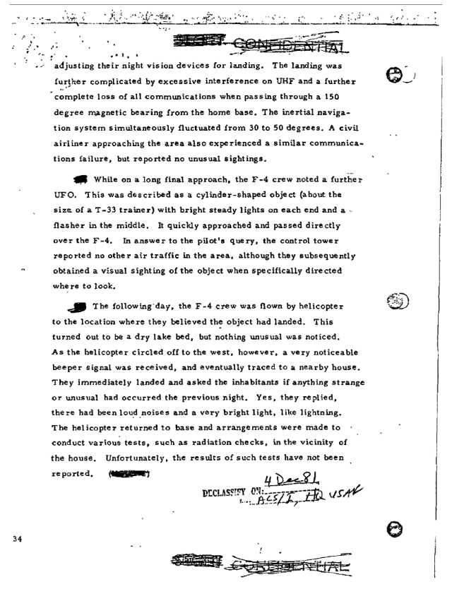 Tehran ufo incident 1976 3 : censored on wikileaks